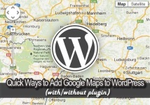 quick ways to add google maps to wordpress with ot without plugin