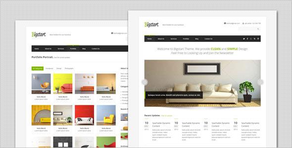 BigStart WordPress Theme