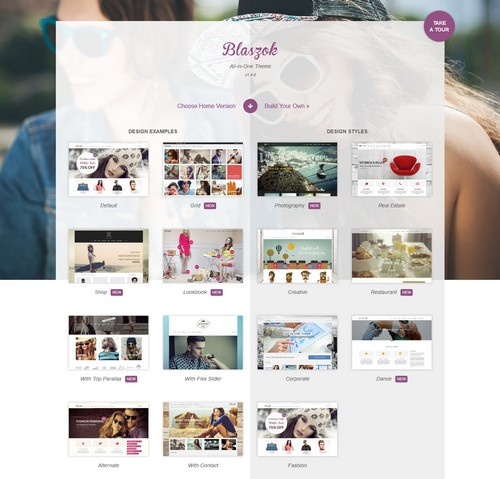 Blaszok Wordpress Theme