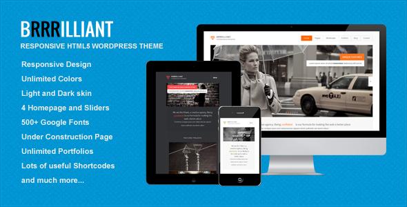 Brrrilliant WordPress Theme