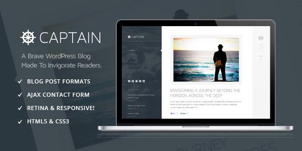 Captain WordPress Theme