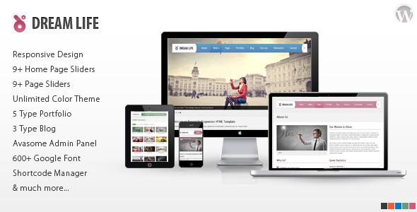 DreamLife WordPress Theme