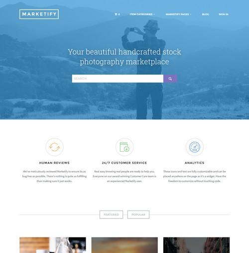 Marketify Wordpress Theme