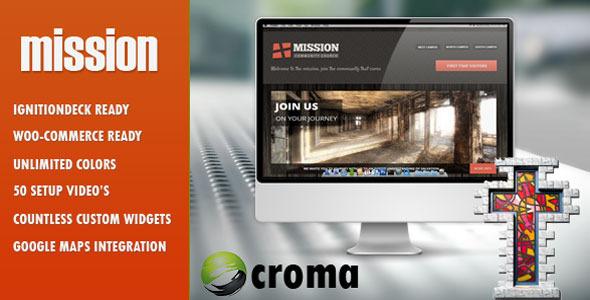 Mission WordPress Theme