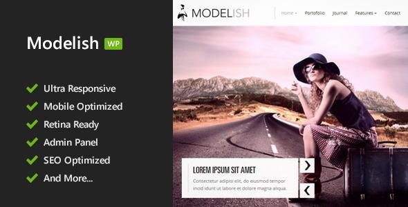 Modelish WordPress Theme