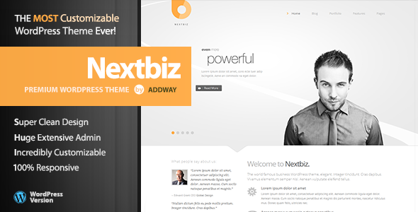 Nextbiz WordPress Theme