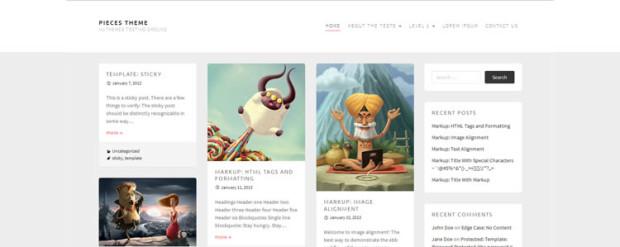 Pieces WordPress Theme