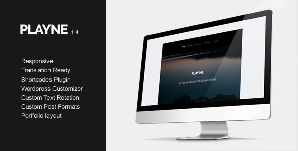 Playne WordPress Theme