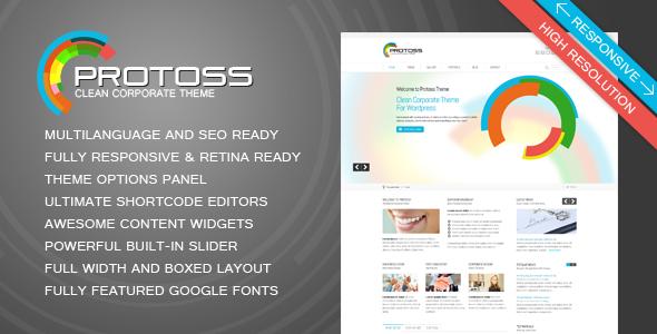 Protoss WordPress Theme