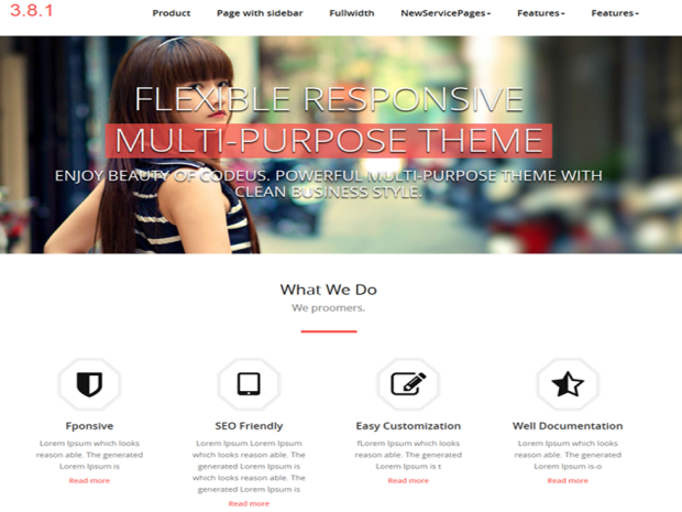 Quality WordPress Theme