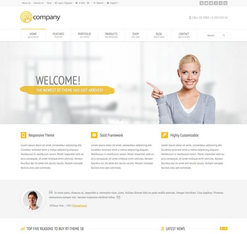 RT Wordpress Theme