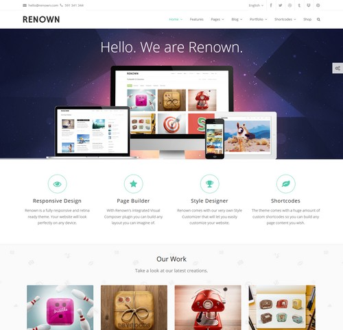 Renown Wordpress Theme