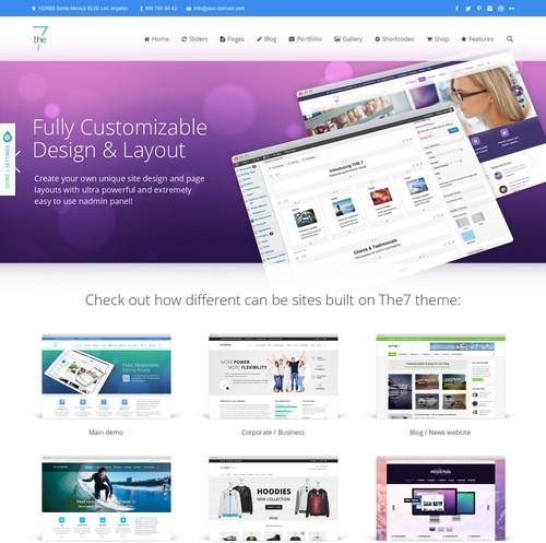 The 7 Wordpress Theme