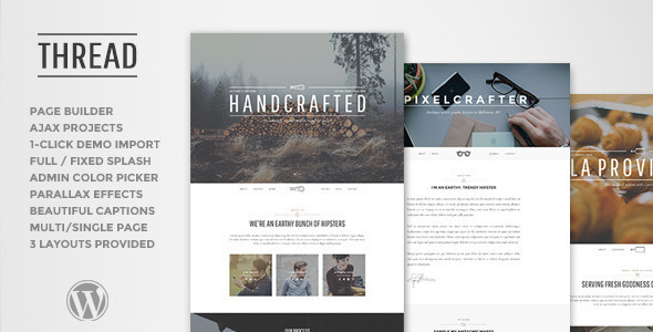 Thread WordPress Theme