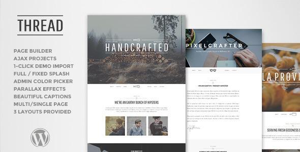 Thread Wordpress Theme
