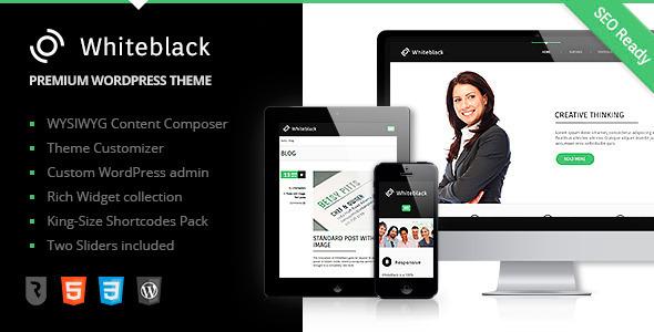 WhiteBlack WordPress Theme